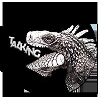 Talking Iguana Logo