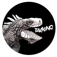 talking iguana logo