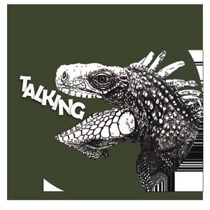 I use it as The Talking Iguana logo
