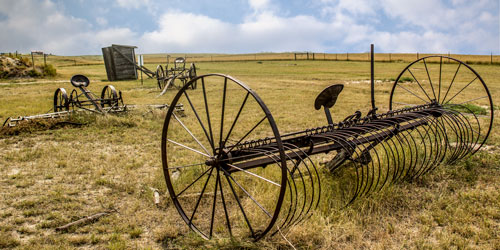 Old West Farm Equipment
